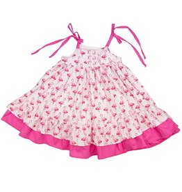 Haute Baby Flamingo Dress