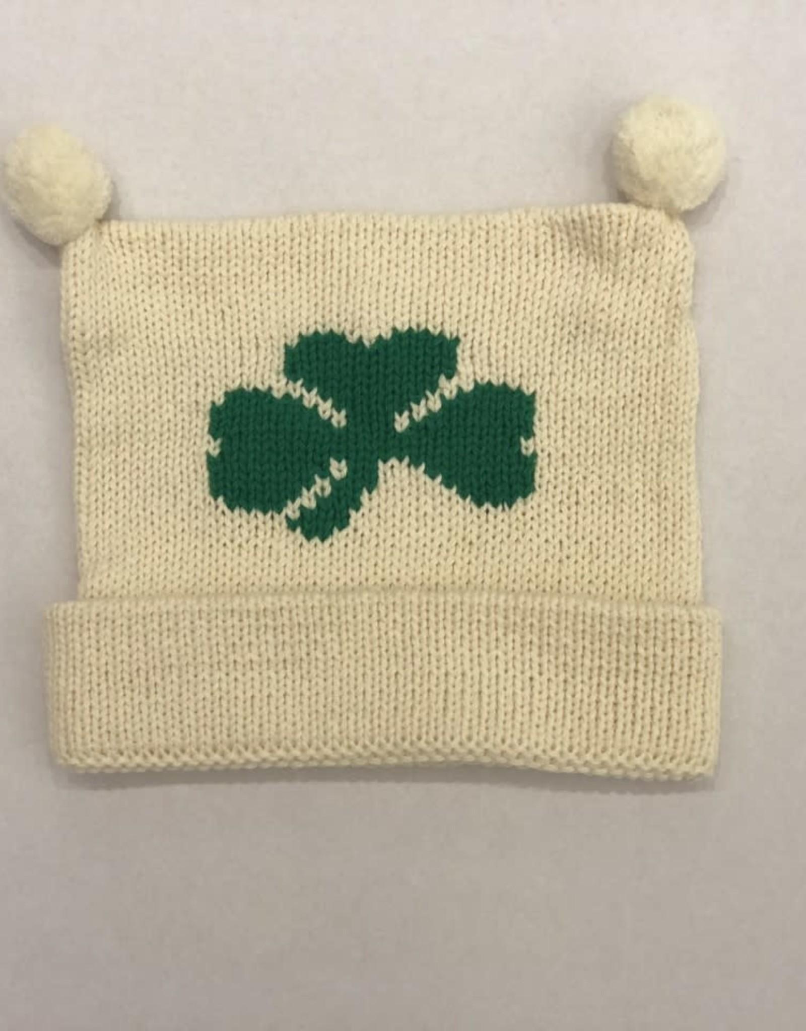 Claver Knit Shamrock Hat