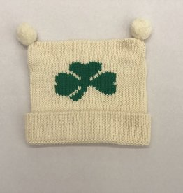 Claver Knit Shamrock Hat