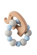 Elephant wood teether