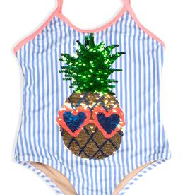 Shade Critters Pineapple Flip Seq Swimsuit Toddler