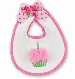 Cupcake Birthday Bib