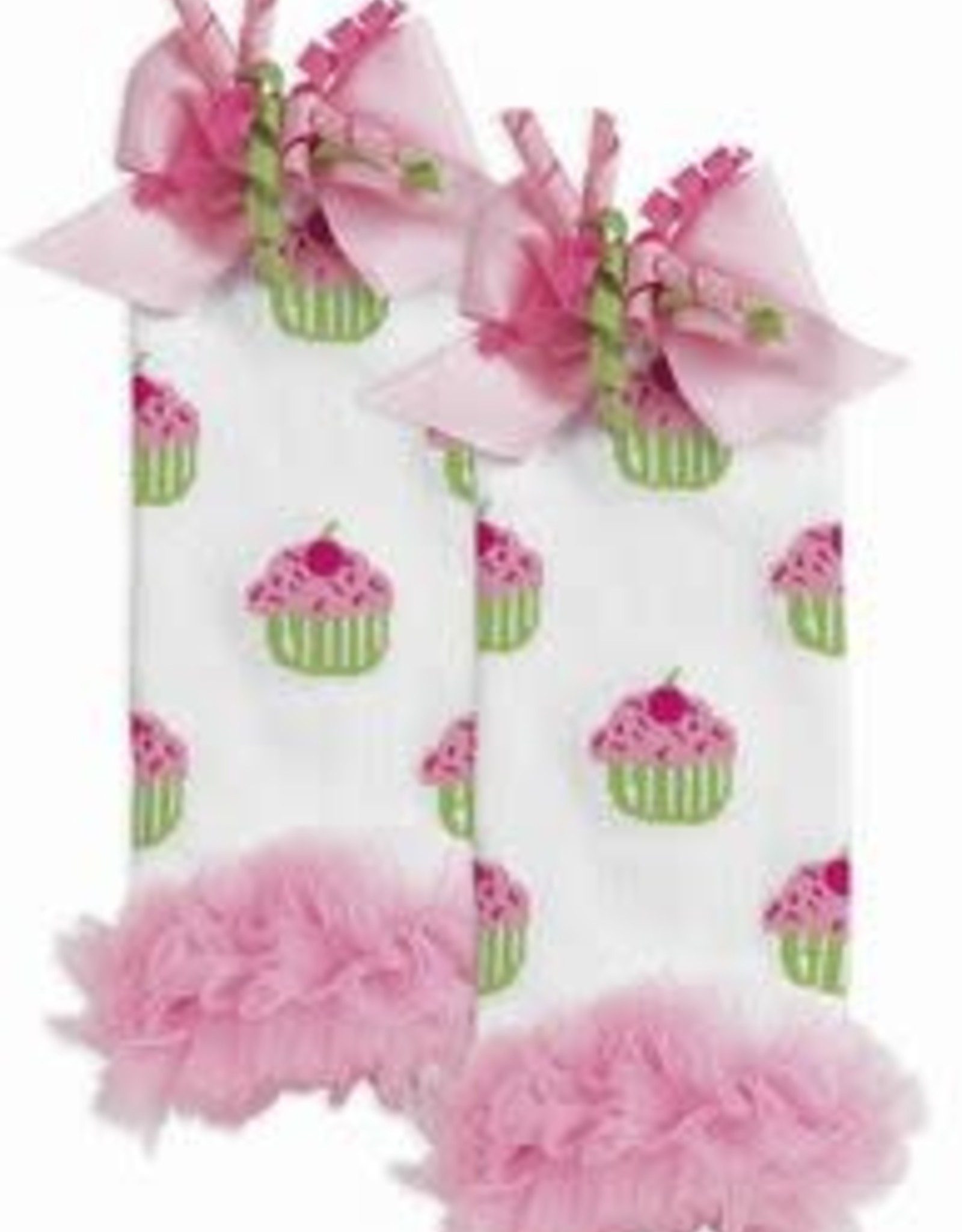Cupcake Leg Warmers    up to 12m