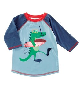Alligator swimsuit w/rashguard Toddler