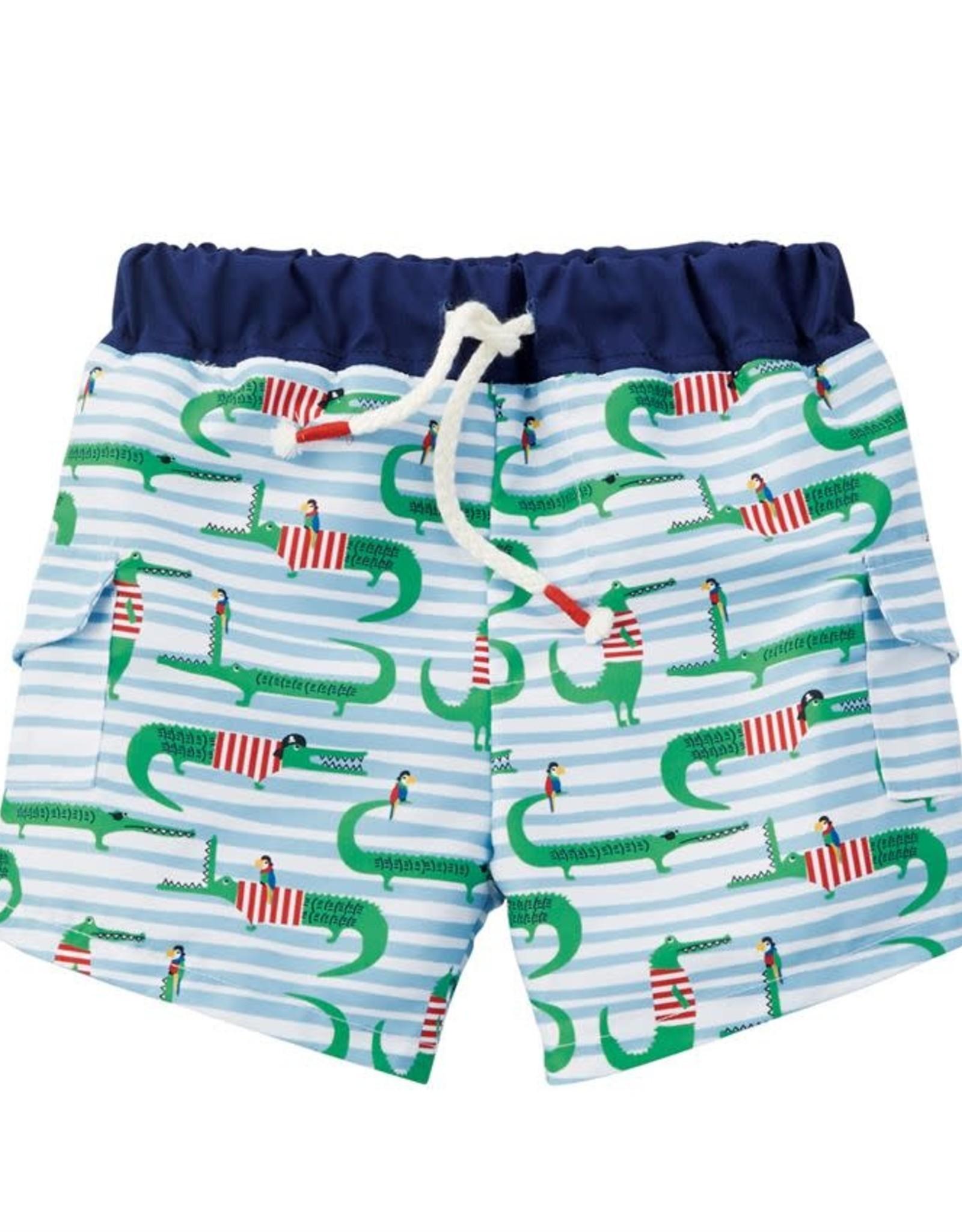 Alligator swimsuit w/rashguard Toddler