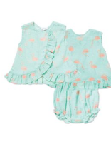 Flamingo Top and Bloomer