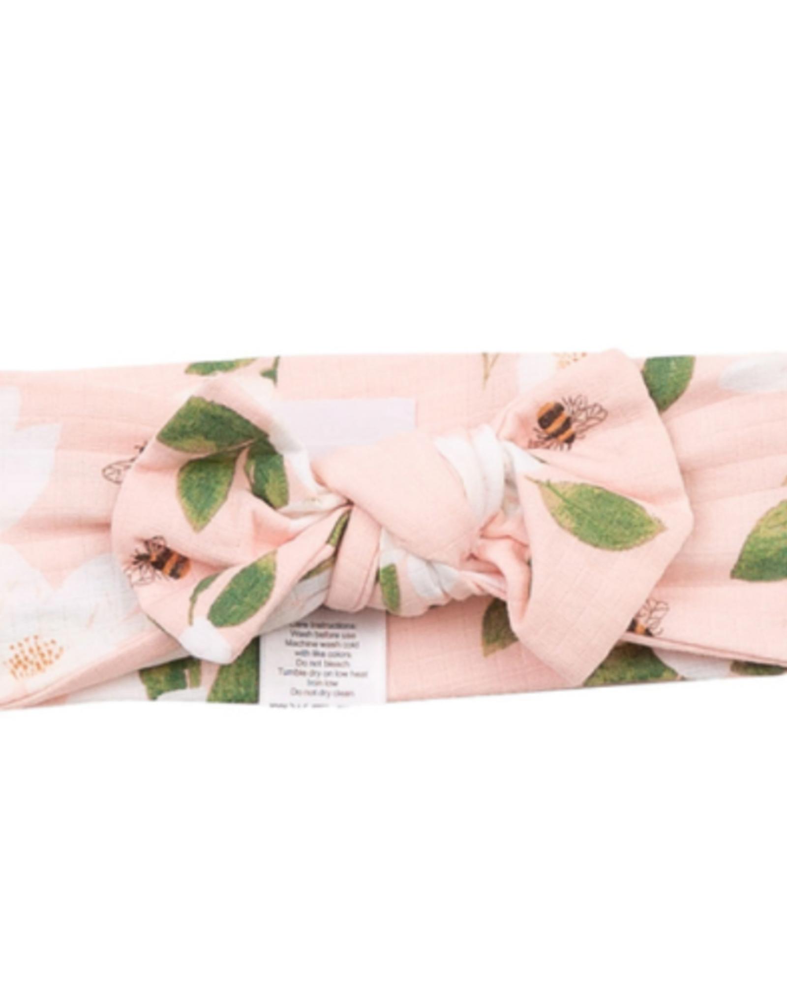 Magnolias Headband 0-12m