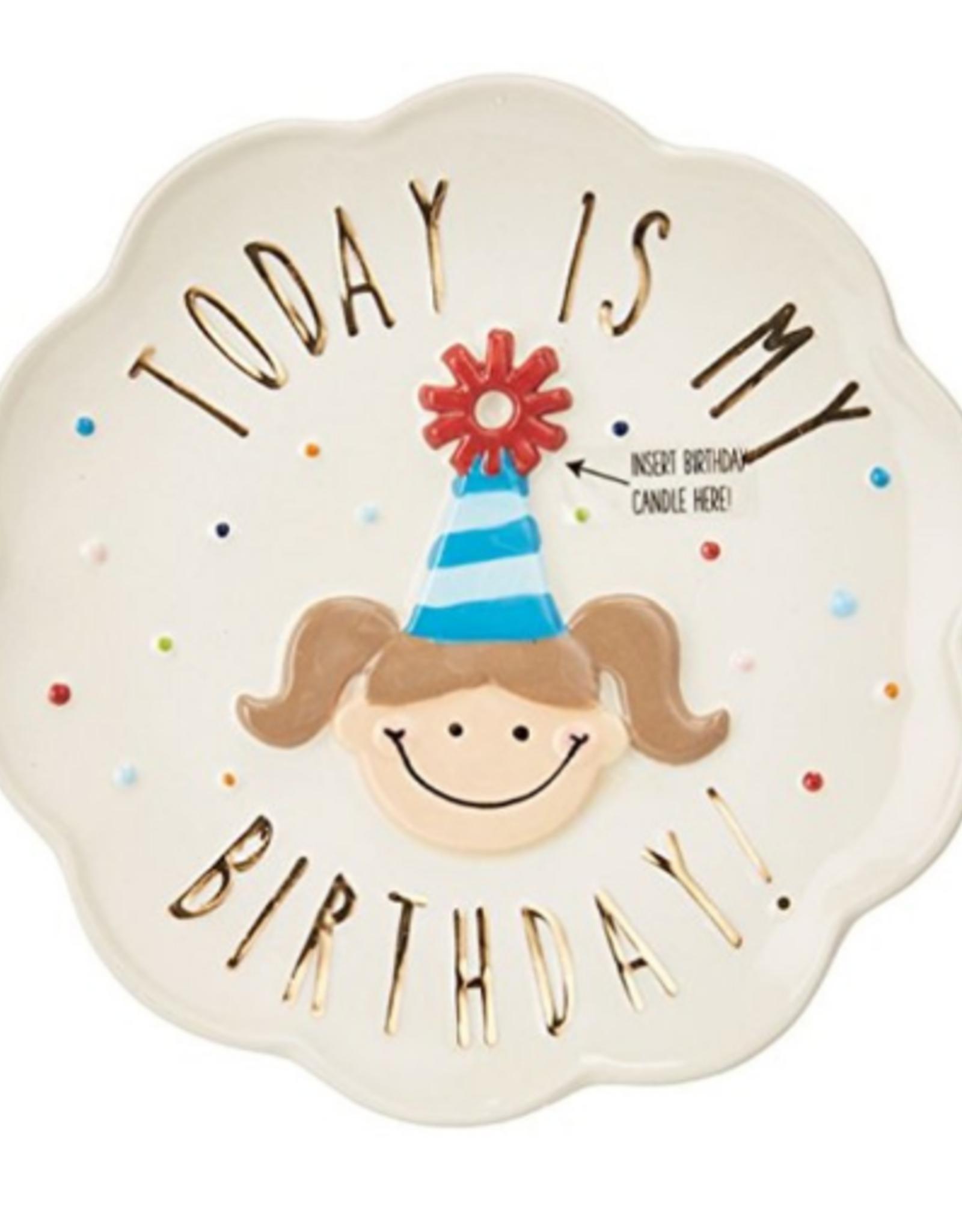 Birthday Girl Plate