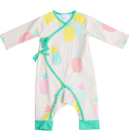 Pineapples Wrap Coverall