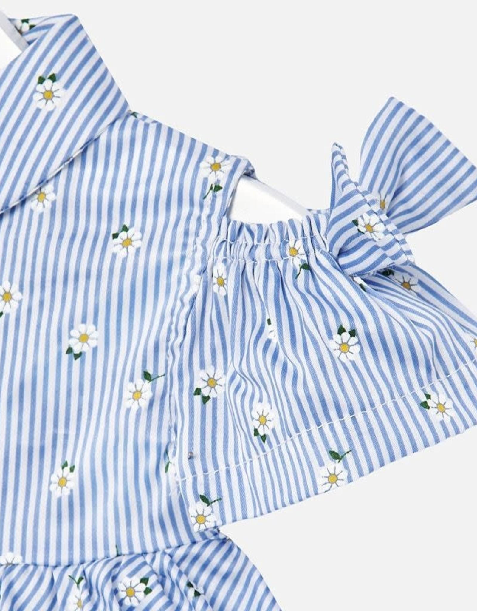 Daisy shirt/denim short set