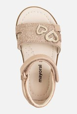 Mayoral Footwear Copper Sandal w/heart