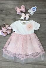 Lace Dress Gift Set 6M