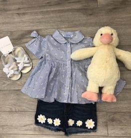 Daisy Short Gift Set w/Duck 9M Mayoral