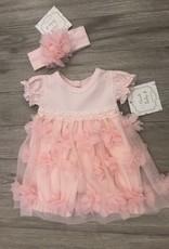 Haute Baby Blossom Bubble Dress Set 3-6M Haute Baby