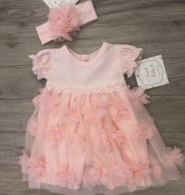 Haute Baby Blossom Bubble Dress Set 3-6M Haute Baby