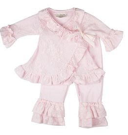Haute Baby Sweet Rose CrissCross Set