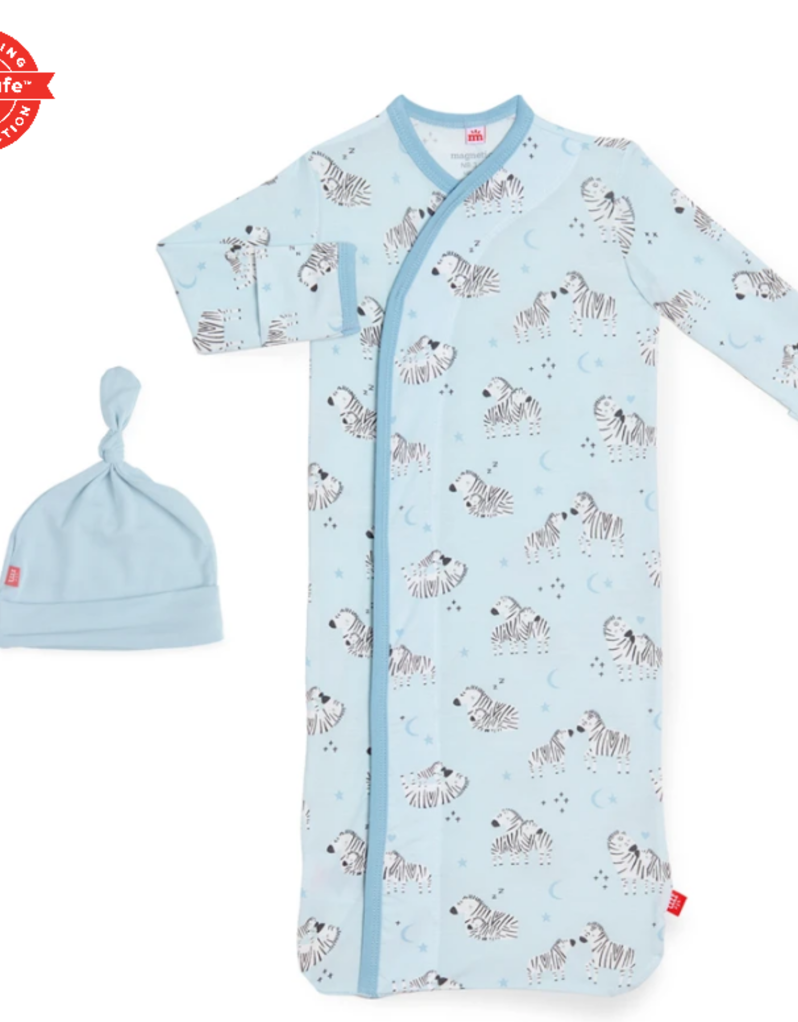 Magnificent Baby Blue Little One Magnetic Gown Set