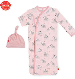 Magnificent Baby Pink Little One Magnetic Gown Set