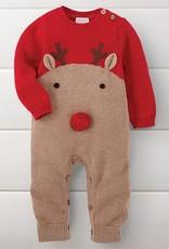 Knit Reindeer One Piece