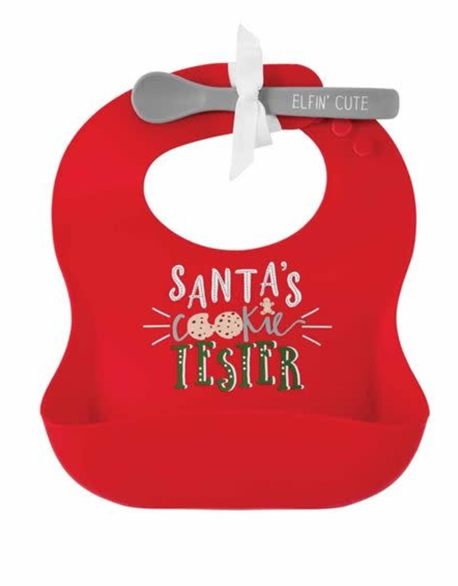 Santa's Cookie Tester Bib
