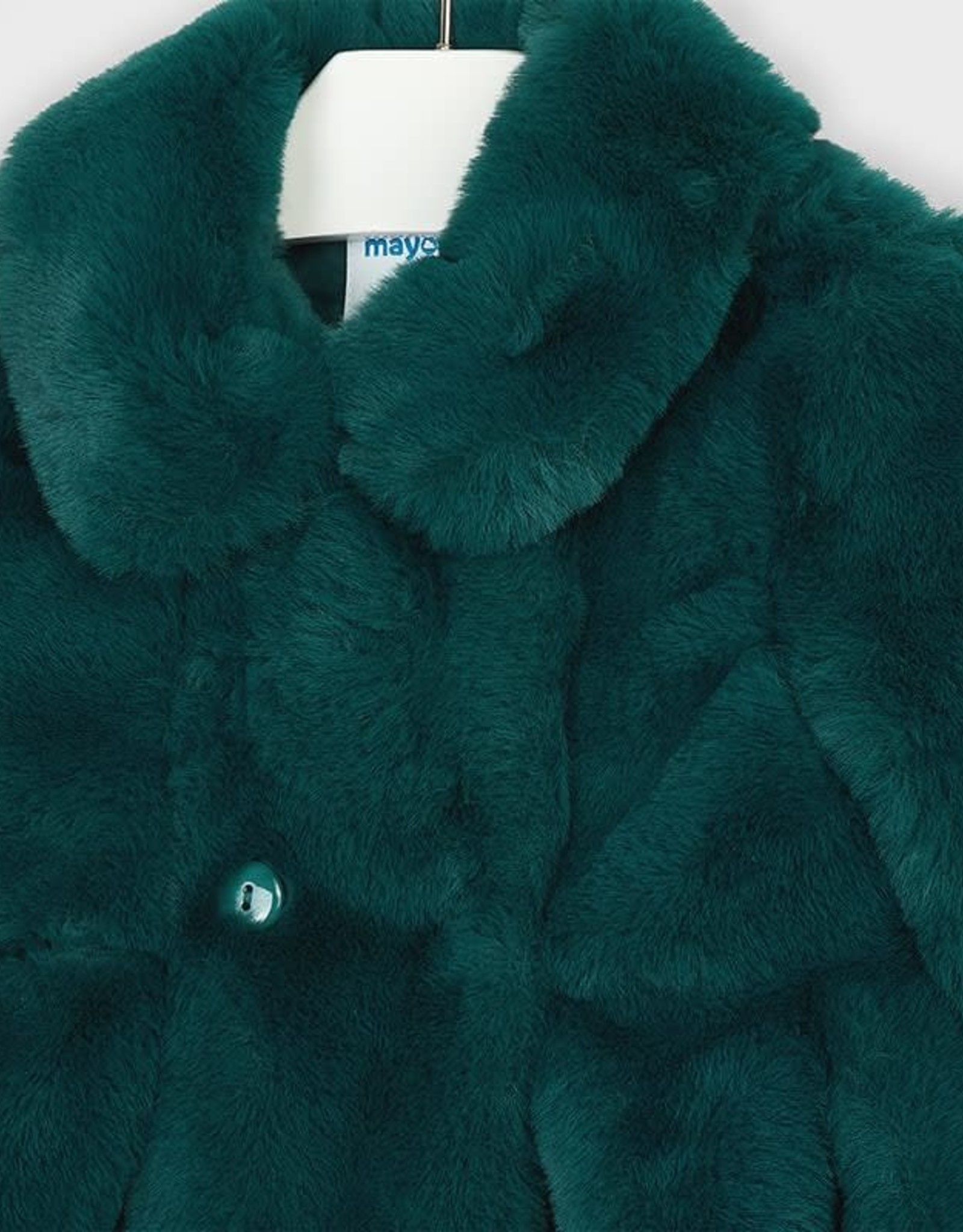 Green Fur Coat