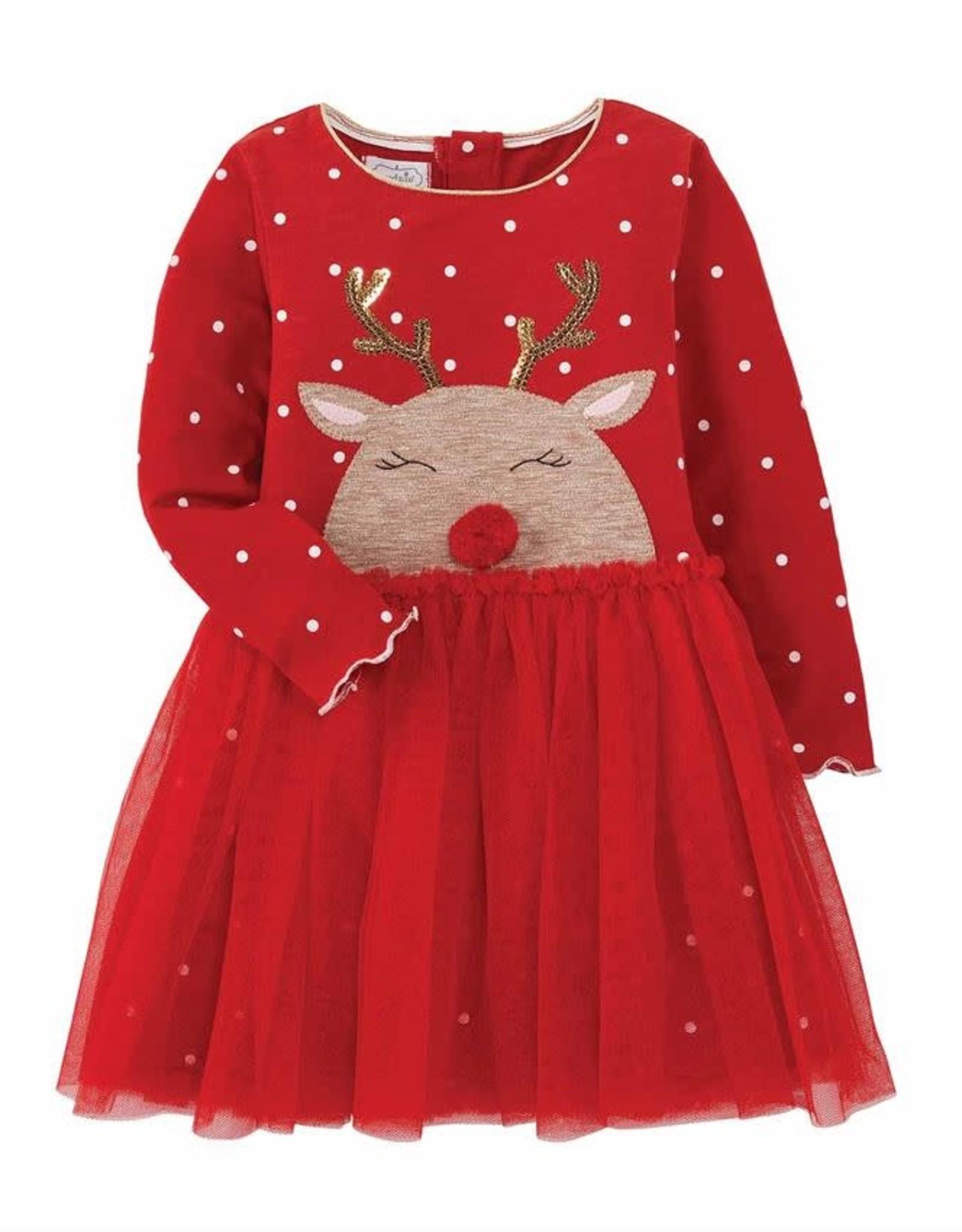 Reindeer Mesh Dress