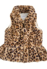 Brown Leopard Vest