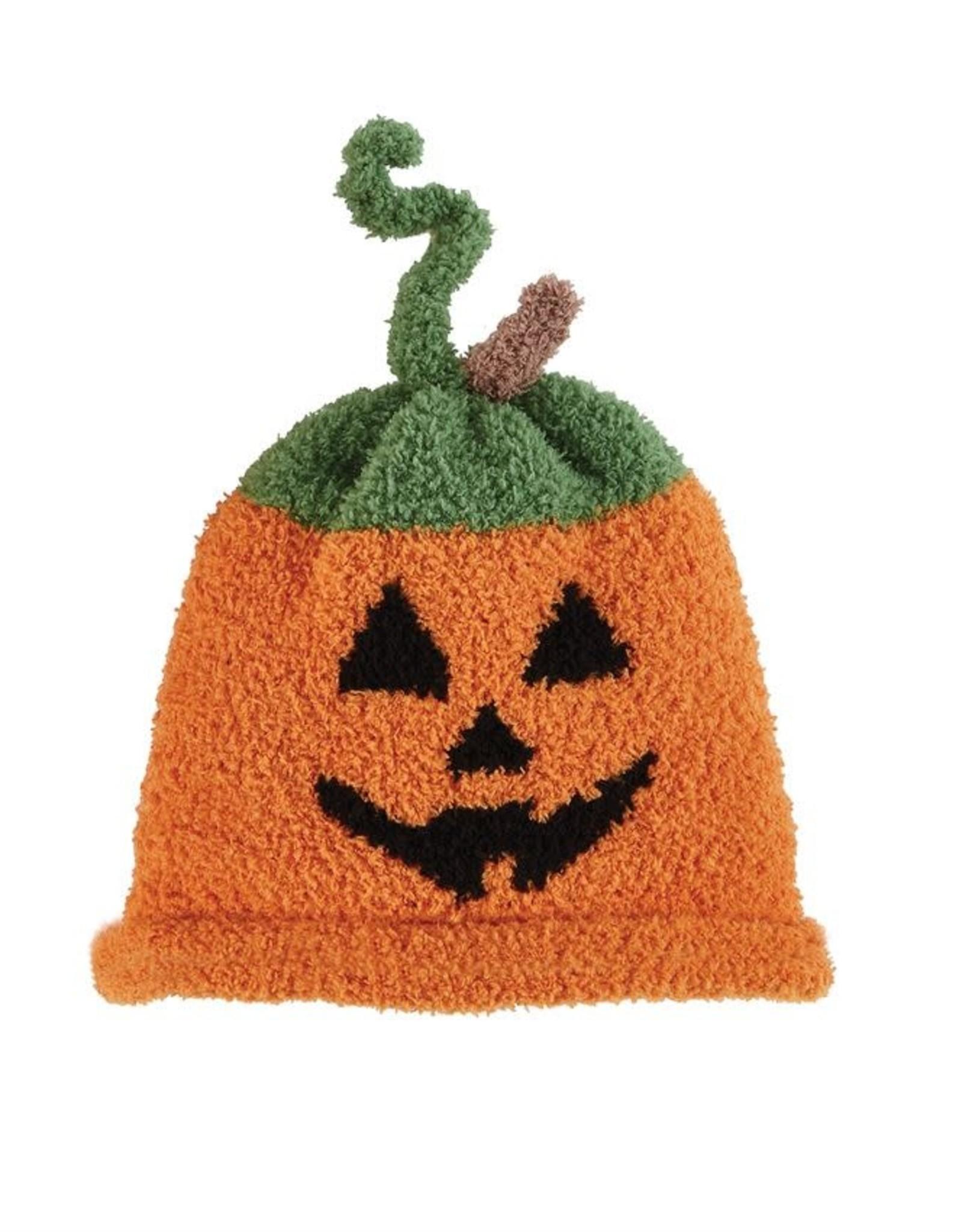 Jack O Lantern Chenille Hat 6-18m