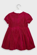 Carmine Glitter Dress