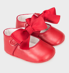 Red Mary Janes