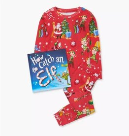 Books to Bed How to Catch an Elf Book/PJ set TOD