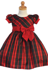 S/S Red Plaid Dress