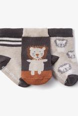 Leo Lion Socks 0-12mos