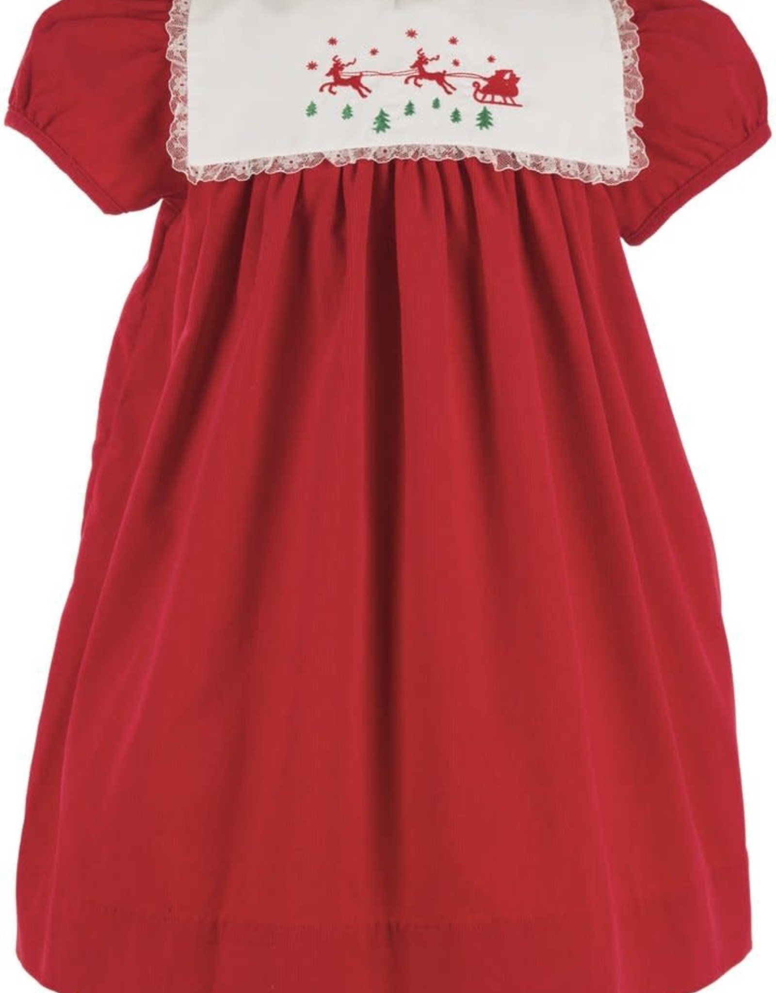Carriage Boutique Reindeer Dress with Bonnet