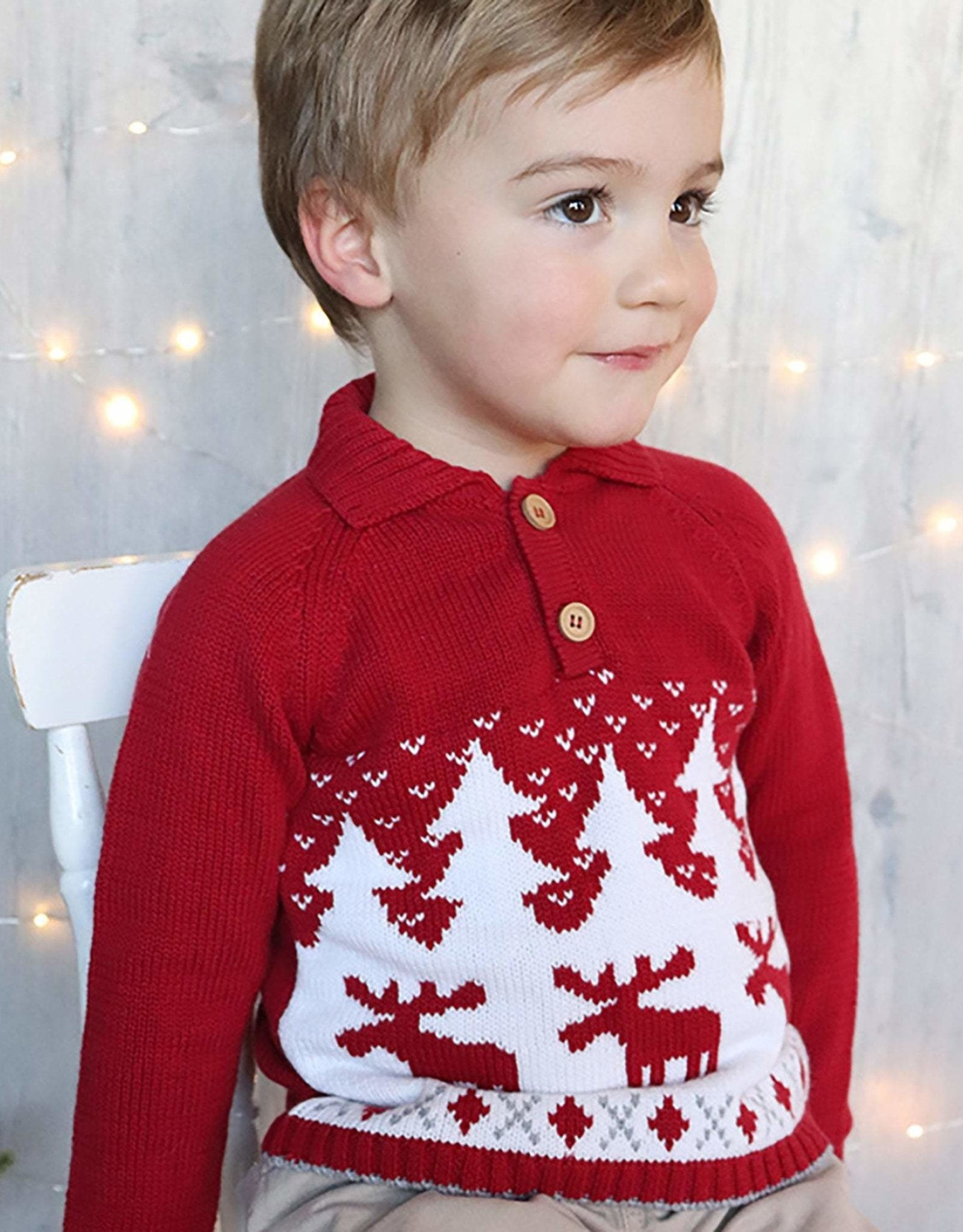 Moose Collar Sweater