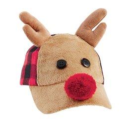 Reindeer Buffalo Hat 2T-5T