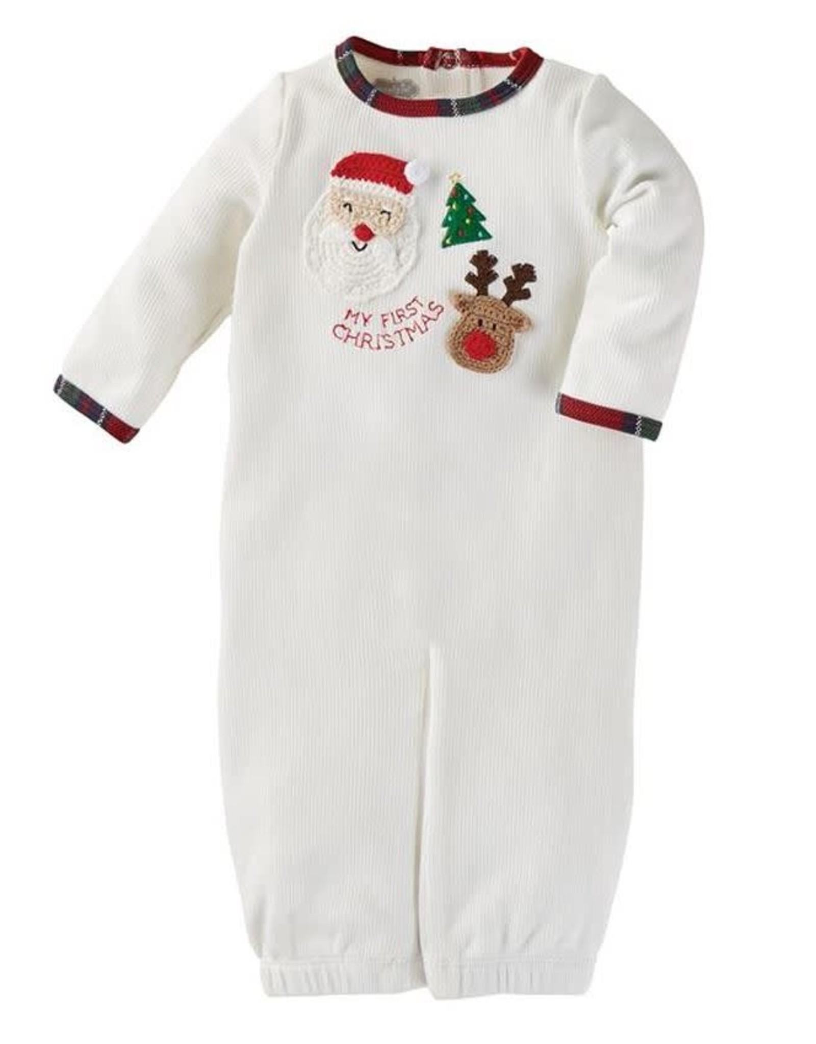 Crochet Convertible Gown 0-3mos