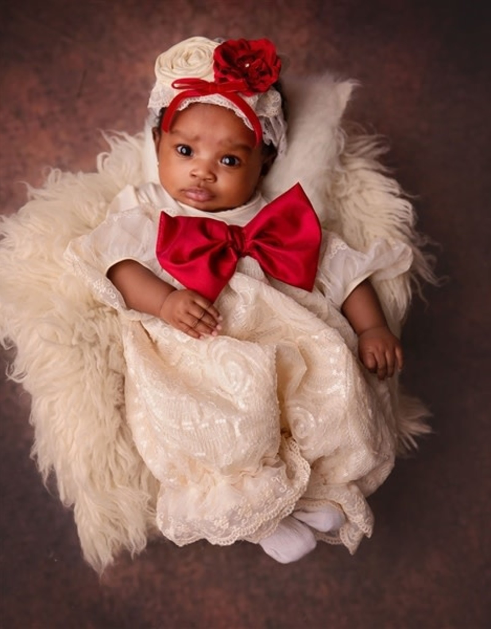 Haute Baby Holiday Sparkle Romper