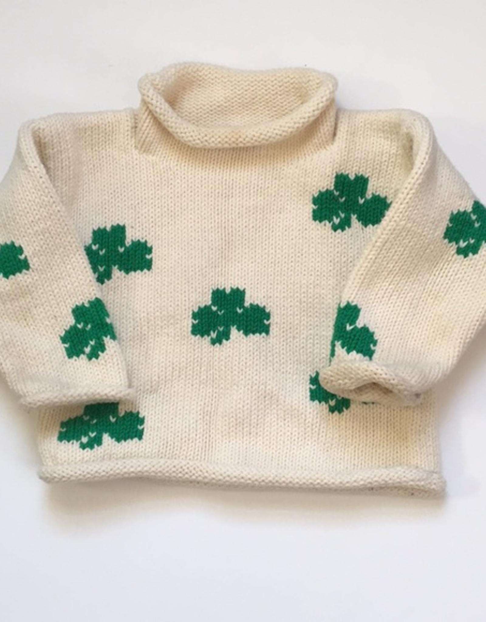 Claver Shamrock Sweater