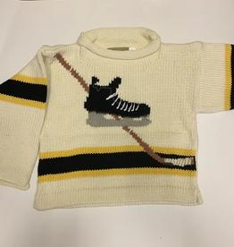 Claver Hockey Rollneck Baby Sweater