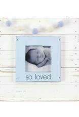So Loved Frame Blue