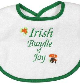 Irish bundle of Joy bib
