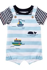 Sailboat Overall/Shirt