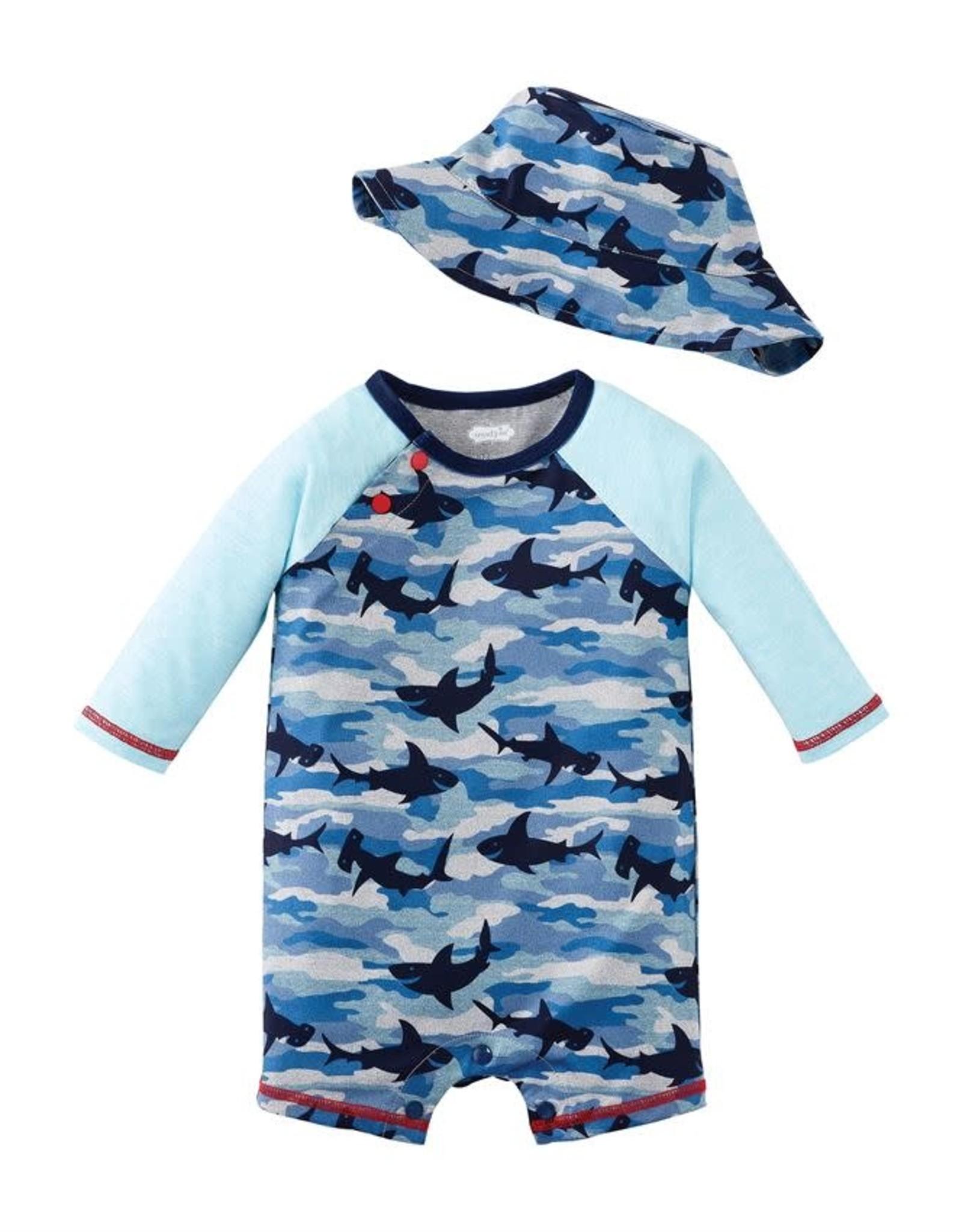 Shark Camo Rashguard 1pc