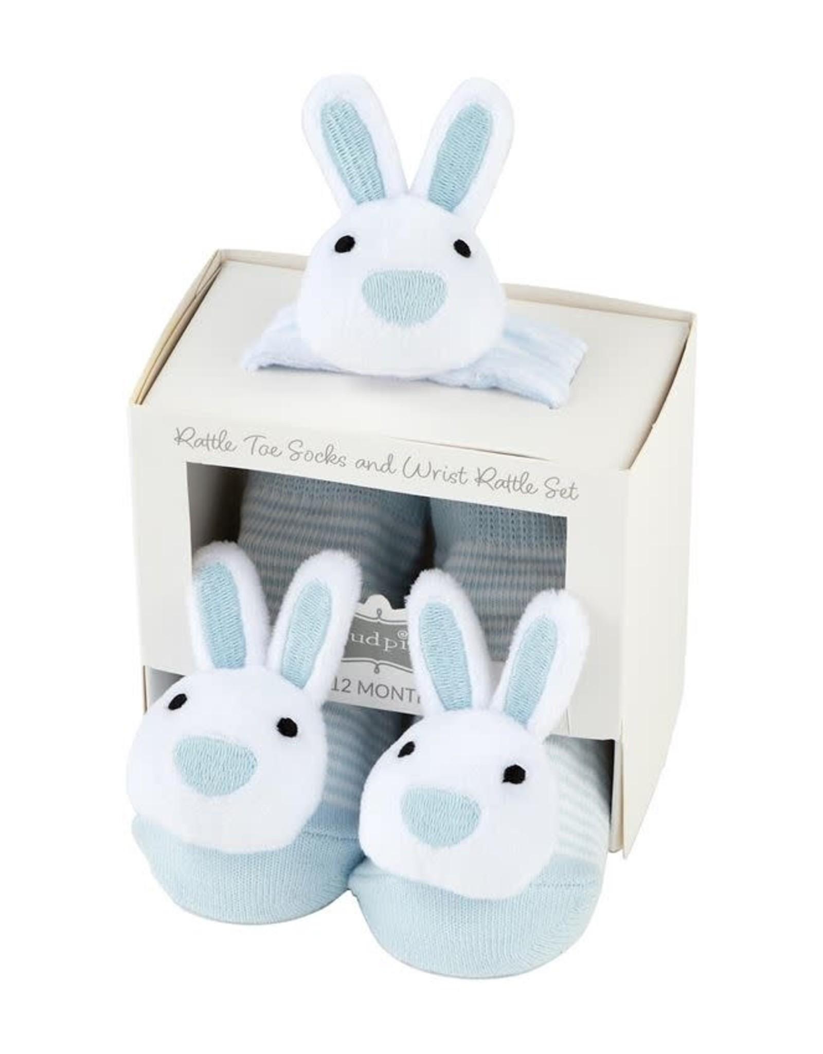 Bunny Wrist Rattle Socks Bl