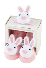 Bunny Wrist Rattle Socks Pk