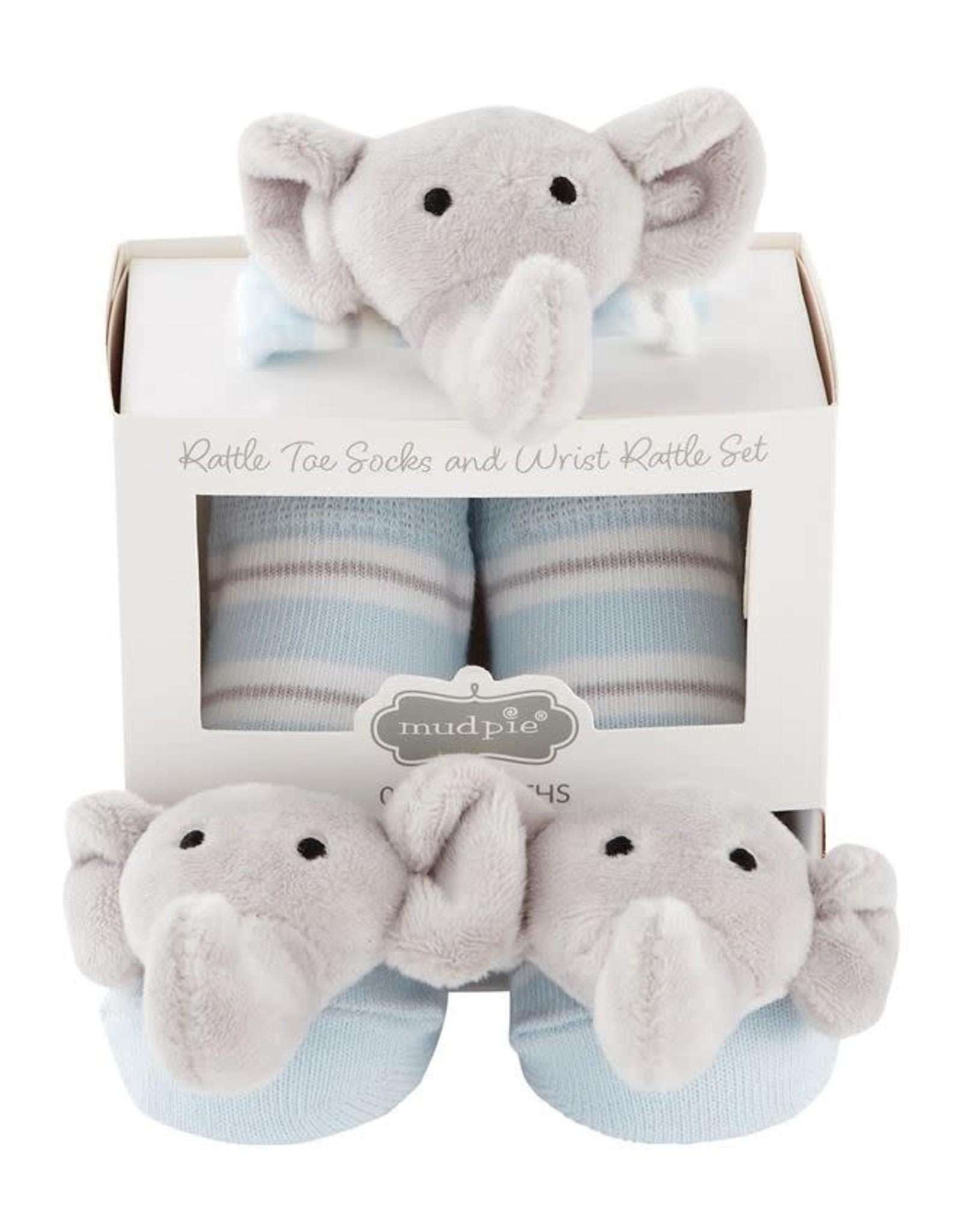 Elephant Wrist Rattle Socks