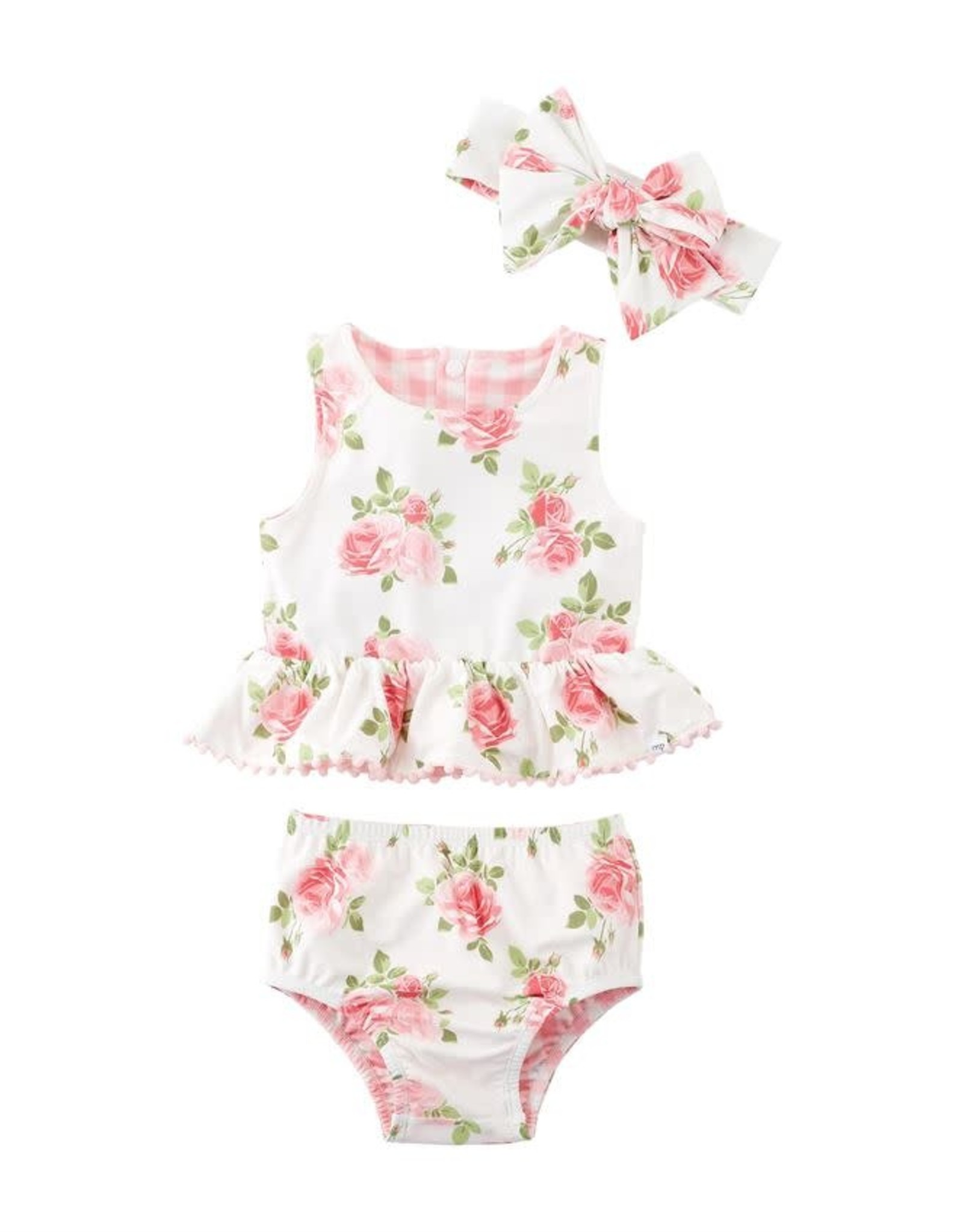 Rose Reversible Swimsuit