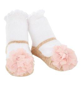 Pom Gold Shoe Socks