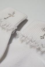 Crystal Cross Socks